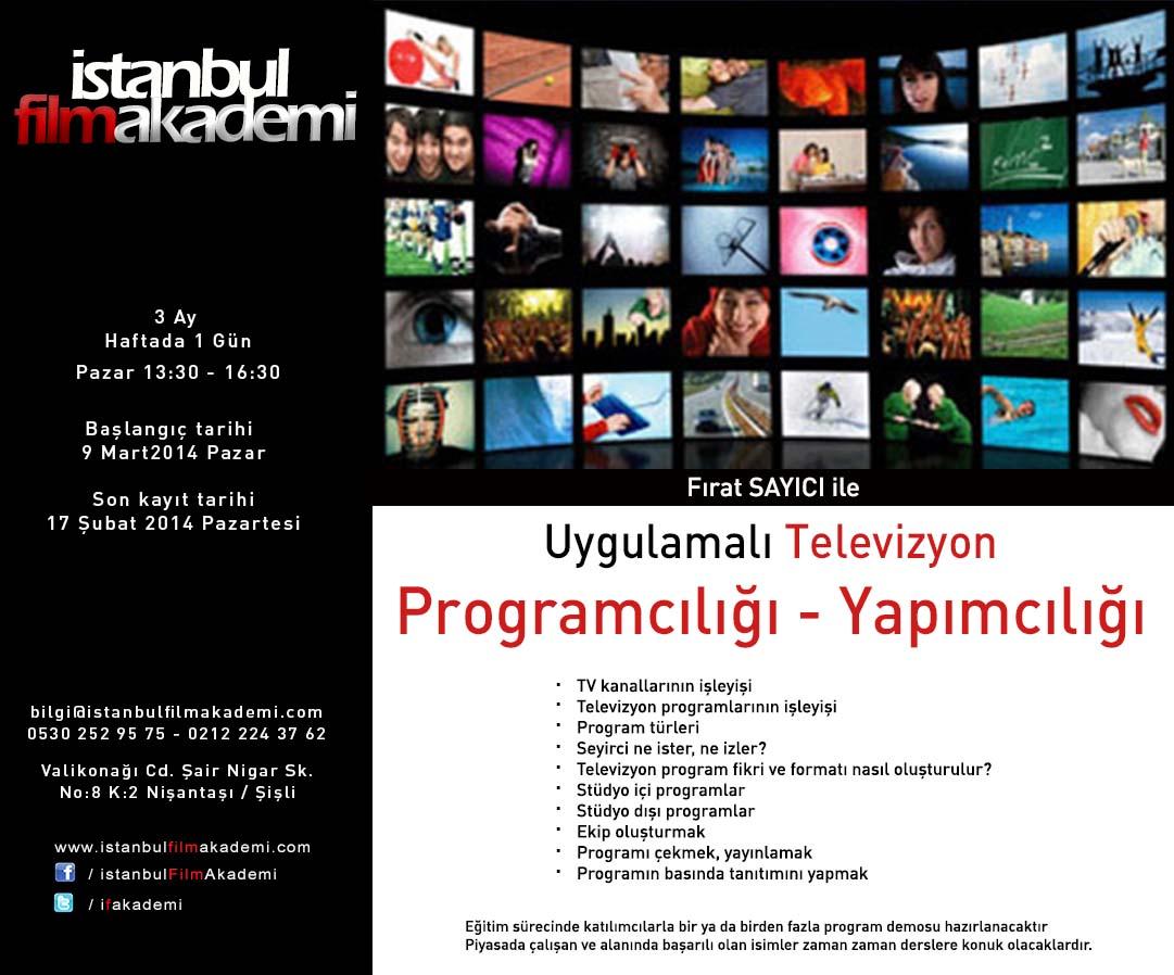 TV Yapımcılığı Eğitimi
